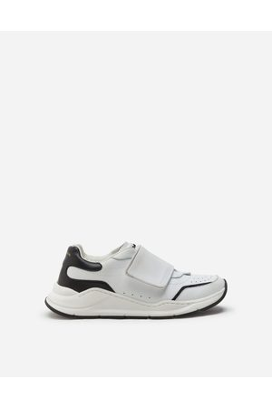 Dolce & Gabbana Men Trainers - Collection - DAYMASTER SNEAKERS WITH RIPTAPE CLOSURE IN NAPPA CALFSKIN