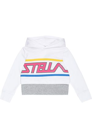 Stella McCartney Logo cotton hoodie