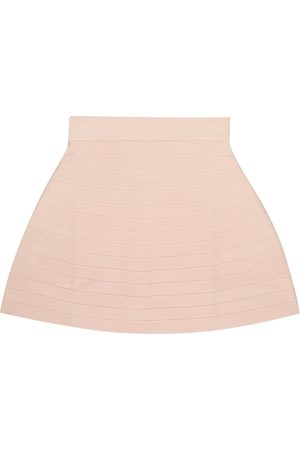 Emporio Armani Girls Skirts - Ribbed-knit skirt