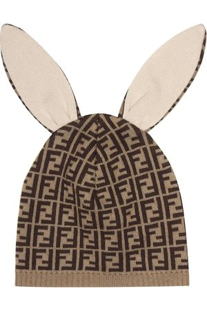 Fendi Baby cotton and cashmere hat