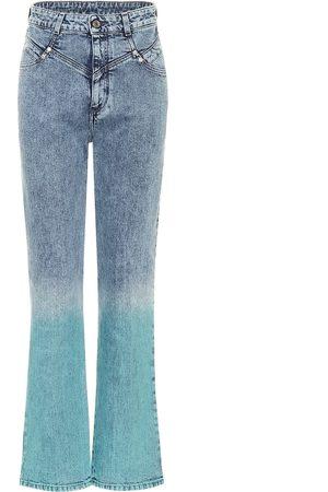 Stella McCartney Gradient high-rise straight jeans