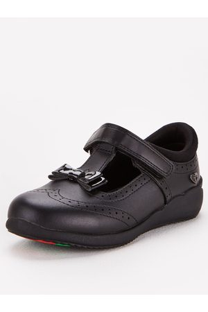 Very Toezone At Younger Girls Brogue Bow Leather School Shoe
