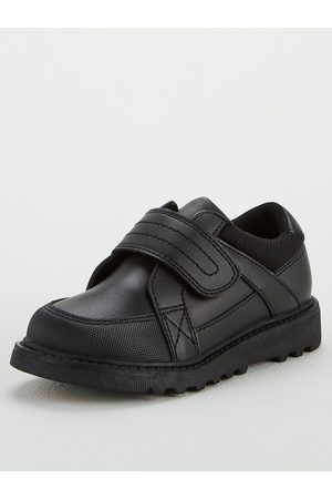 Very Toezone At Younger Boys Chunky Sole Leather School Shoe