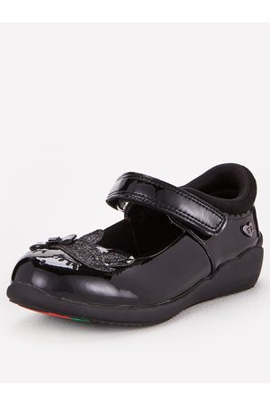 Very Toezone At Younger Girls Unicorn Leather School Shoe