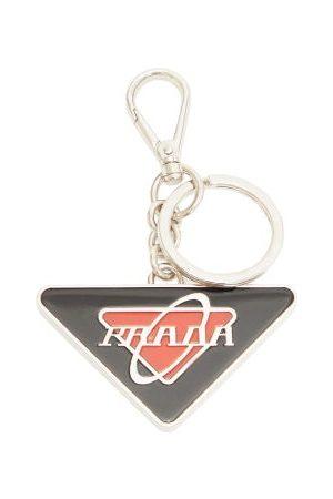 Prada Enamel Logo Key Ring - Mens