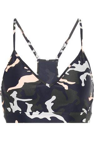 The Upside Camo 54 Andie sports bra