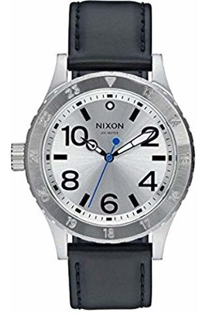 Nixon Mens Analogue Quartz Watch with Leather Strap A467-2184-00
