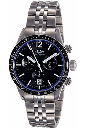 Rotary Men's Analogue Quartz Watch with Stainless Steel Strap GB90152/04