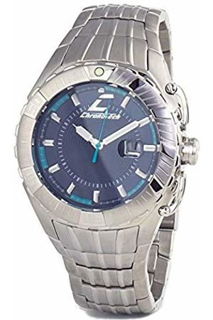 ChronoTech Mens Analogue Quartz Watch with Stainless Steel Strap CT7113M-03M