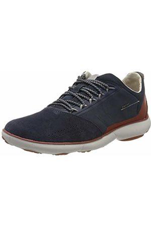 Geox Men's U Nebula C Low-Top Sneakers, (Avio C4005)