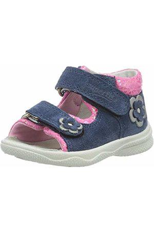 Superfit Baby Girls' Polly Sandals, (Blau/ROSA 81)