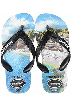 Havaianas Unisex Kid's Top Photoprint Flip Flops, ( / /Turquoise 7661)