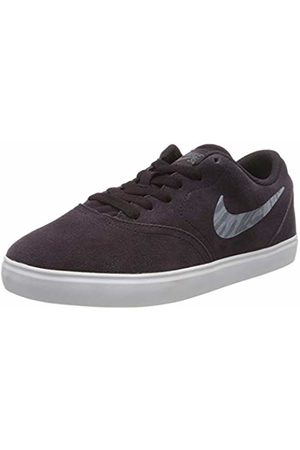 Nike Unisex Kids' Sb Check Suede (gs) Walking Shoe, Burgundy Ash/MTLC Dusk