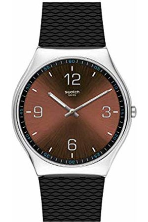 Swatch Men's Analogue Quartz Watch with Rubber Strap SS07S107