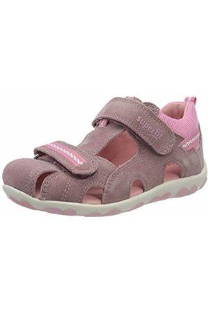 Superfit Baby Girls' Fanni Sandals, (Lila/Rosa 90)