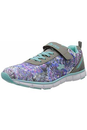 LICO Women's Sunflower Vs Nordic Walking Shoes, (Grau/Türkis Grau/Türkis)