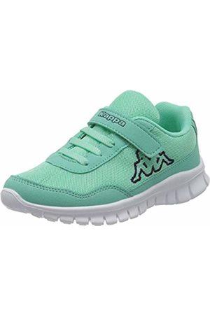 Kappa Unisex Kids' Follow Low-Top Sneakers, Turquoise (Mint/Navy 3767)