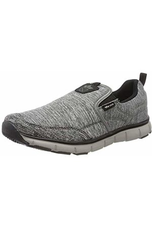 LICO Unisex Adults' Mega Slip in Nordic Walking Shoes, (Grau/Schwarz Grau/Schwarz)