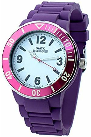 Watx Analogue Quartz Watch with Rubber Strap RWA1623-C1520