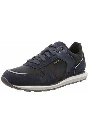 Geox Men's U VOLTO A Low-Top Sneakers, (Avio C4005)