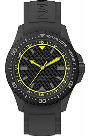 Nautica Mens Analogue Quartz Watch with Silicone Strap NAPMAU006