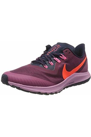Nike Women's WMNS Air Zoom Pegasus 36 Trail Running Shoe, Villain /Total Crimson