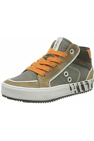 Geox Boys J Alonisso C Hi-Top Trainers