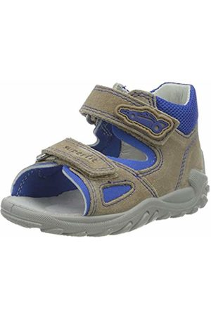 Superfit Baby Boys' Flow Sandals, ( /Blau 40)