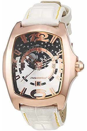 Chronotech Womens Analogue Quartz Watch with Leather Strap CT7979L