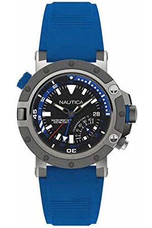 Nautica Mens Analogue Quartz Watch with Silicone Strap NAPPRH001