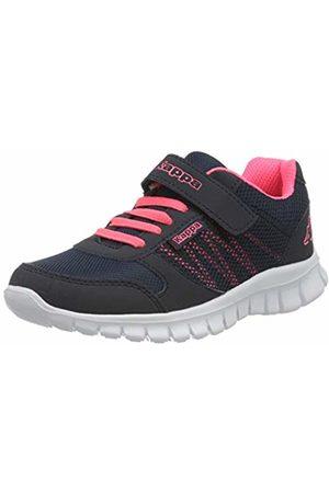 Kappa Unisex Kids' Stay Low-Top Sneakers, (Navy/Coral 6729)