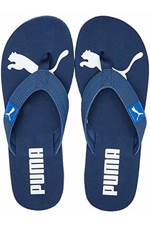 Puma Unisex Adult's Cozy FLIP Beach & Pool Shoes, (Dark Denim-Palace 04)