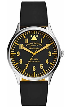 Fossil Quartz Watch with Silicone Strap FS5615