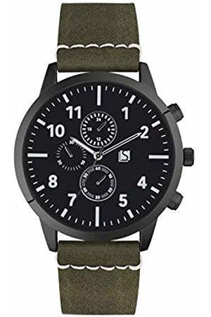 Spirit Mens Analogue Classic Quartz Watch with PU Strap ASPG21