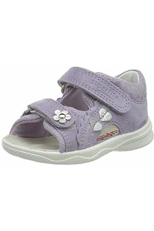 Superfit Baby Girls' Polly Sandals, (Lila 90)