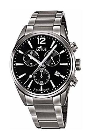 Lotus Mens Chronograph Quartz Watch with Stainless Steel Strap 18682/3