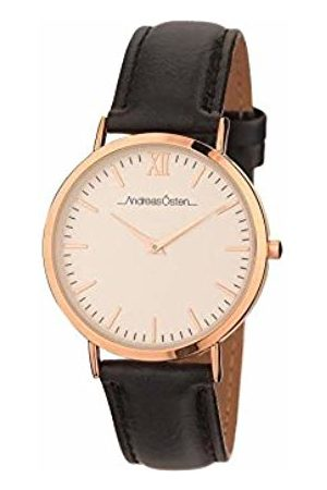 Andreas Osten Womens Analogue Quartz Watch with Leather Strap AO-02