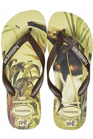 Havaianas Unisex Adult's Ipe Flip Flops, (Sand /Dark 8615)
