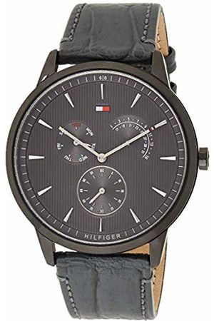 Tommy Hilfiger Mens Multi dial Quartz Watch with Leather Strap 1710388