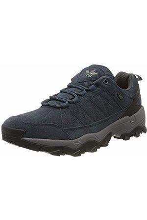 LICO Unisex Adults' Fairfield Low Rise Hiking Shoes, (Marine/Grau Marine/Grau)