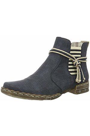 Rieker Women's Y1893 Chelsea Boots, (Atlantis/Elefant)