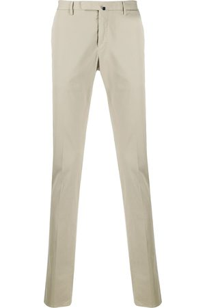 Incotex Slim fit chino trousers - Neutrals