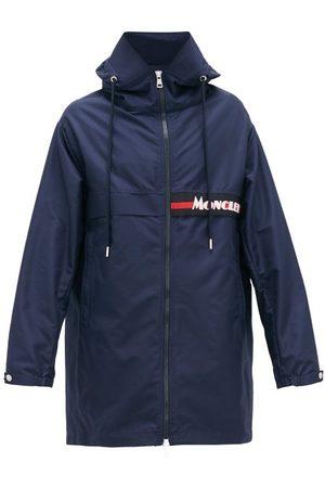 Moncler Logo-patch Technical-fabric Parka - Mens