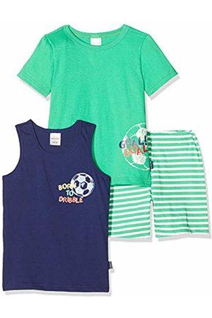 Schiesser Boys World Kn Schlafanzug 3-teilig Pyjama Set