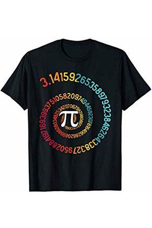 Wowsome! Pi Spiral 3.14 Pi Number Symbol Math Science Gift T-Shirt