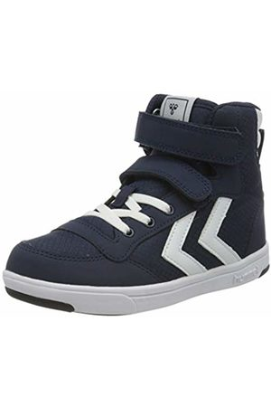 Hummel Unisex Kids' Stadil Ripstop High Jr. Hi-Top Trainers, ( Iris 1009)