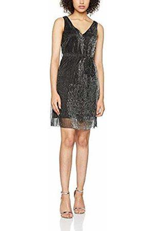 Dorothy Perkins Petite Women's Plisse V Neck Party Dress