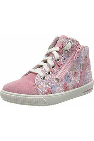Superfit Baby Girls' Moppy Low-Top Sneakers, (Rosa 55)
