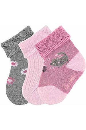 Sterntaler Baby Girls söckchen 3er-Pack Katze Calf Socks