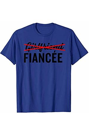 Miftees Promoted to Fiancee funny Fiancee T-Shirt